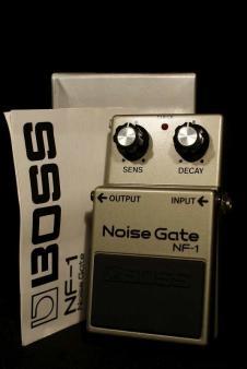 Mint Boss NF-1 Noise Gate 1985 Japan s/n 515300 image