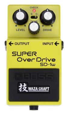 Boss Waza Craft SD1w Super Overdrive image