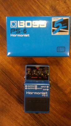 Boss PS-6 Harmony Pedal image