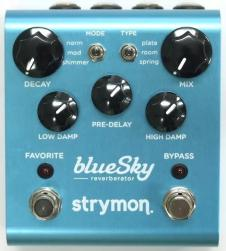 Strymon blueSky Reverberator Pedal w/EU type adapter image