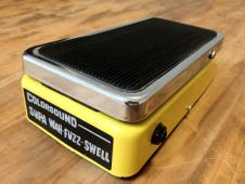 1970's Colorsound  Supa Wah-Fuzz-Swell tonebender wah fuzz volume 1970 Yellow image