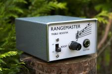 Pigeon Effects Dallas RangeMaster Treble Booster OC44 Hand Made 2014 Silver Grey image