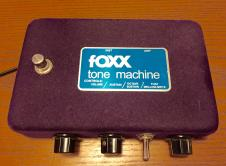 Foxx Tone Machine RI Purple Octave Fuzz in Box w/ Papers collectible! image