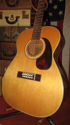 "Circa 1977 Harmony Model 1233 12 String Acoustic ""Leadbelly"" image"