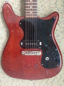 1963 Epiphone Coronet (conversion) WEIGHS JUST OVER 4 LBS! image