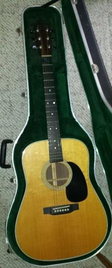 Martin D-28 C F Martin D-28  dreadnought with Martin OHSC 2003 image
