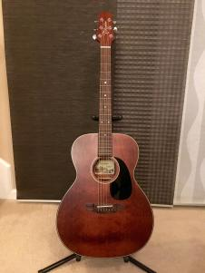 Takamine EF740SGN OM-style Acoustic-Electric Guitar image