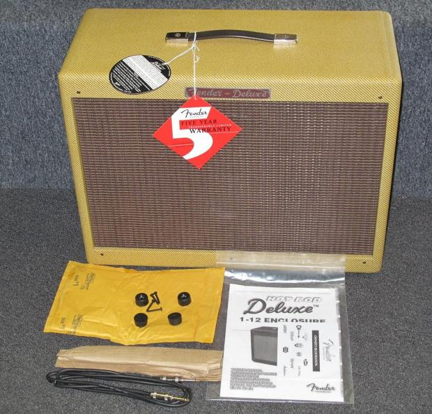 Fender Hot Rod Deluxe Extension Cab Fender Hot Rod Deluxe 112