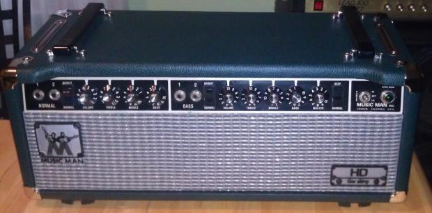 Musicman hd 130 Amp Head Music Man hd 130 Tube Amp