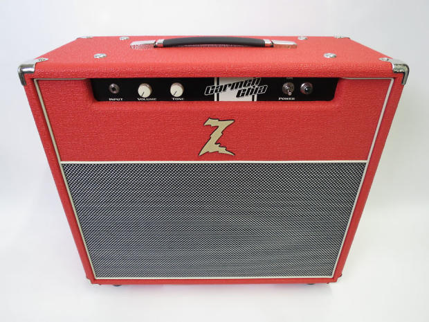 dr z carmen ghia 1x12 18w boutique tube combo amp red reverb. Black Bedroom Furniture Sets. Home Design Ideas