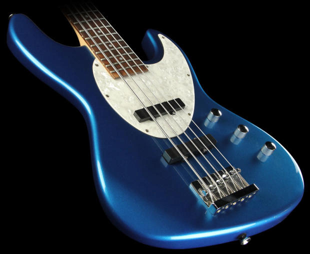 hamer cruise bass 5 string electric bass guitar candy blue reverb. Black Bedroom Furniture Sets. Home Design Ideas