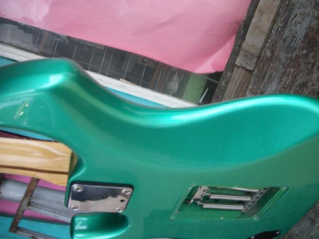 fender performer 1985 electric guitar emerald mist with hard case reverb. Black Bedroom Furniture Sets. Home Design Ideas