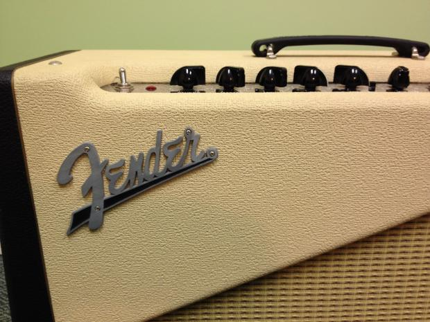 Fender Custom Shop Two Tone Amplifier 2001 Blonde And