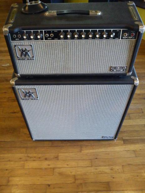 Musicman hd 130 Amp Head 1977 Musicman hd 130