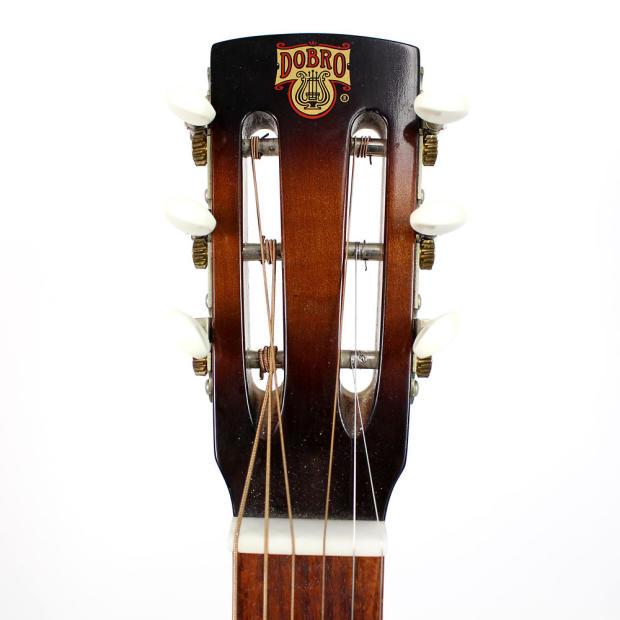 1982 vintage dobro square neck 6 string resonator acoustic guitar reverb. Black Bedroom Furniture Sets. Home Design Ideas