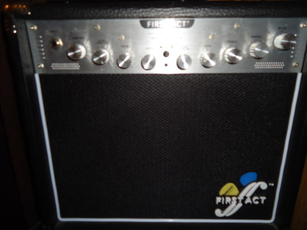 first act ma 120 guitar amplifier 2012 black silver reverb. Black Bedroom Furniture Sets. Home Design Ideas