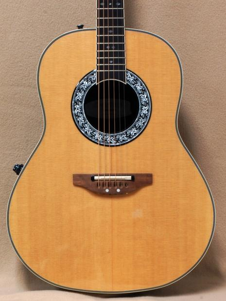Ovation 1627vl 4 Vintage Lyrachord Acoustic Electric