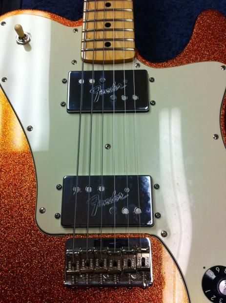 Fender 72 Telecaster Deluxe Rebuilt Wide Range
