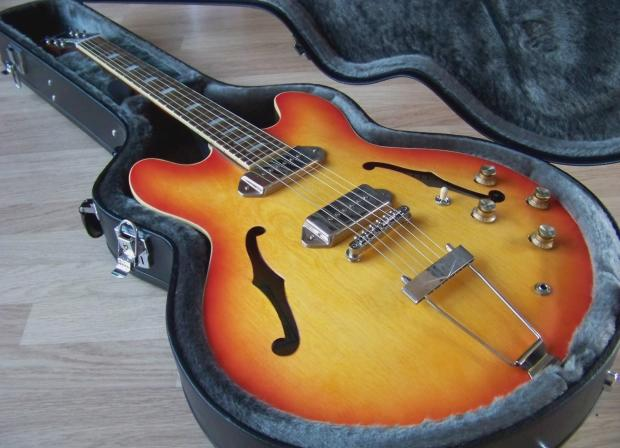 epiphone casino paul weller
