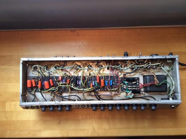Fender Twin Reverb 1974 Super Six Tube Amp Chassis Reverb