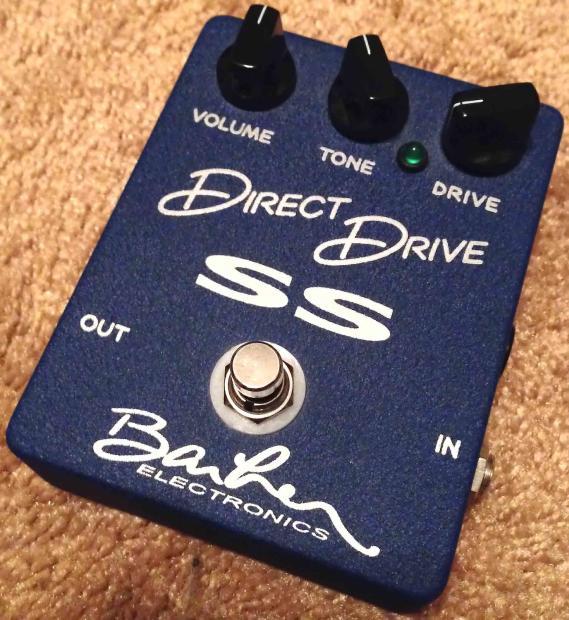 Original Issue Barber Direct Drive SS Super Sport Reverb