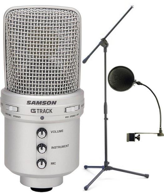 Samson Audio Gm1u G Track Condenser Mic W Built In Usb