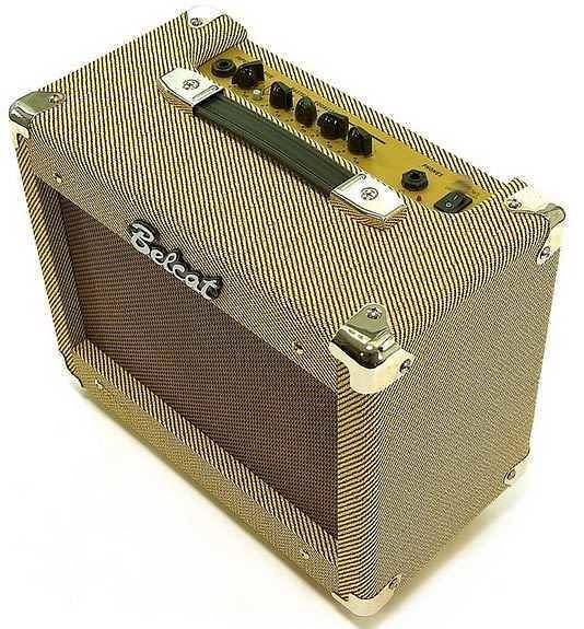 Belcat Amps Bass Belcat v 25 Tweed Guitar Amp