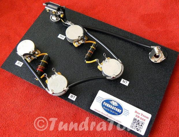 bumblebee wiring harness cts switchcraft fits es 335. Black Bedroom Furniture Sets. Home Design Ideas