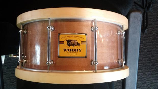 pdp woody maple snare drum wood hoops reverb. Black Bedroom Furniture Sets. Home Design Ideas