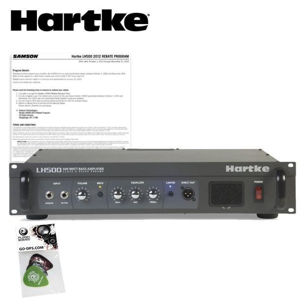 hartke lh500 500 watt bass guitar amplifier head amp kit w pick sampler pack reverb. Black Bedroom Furniture Sets. Home Design Ideas