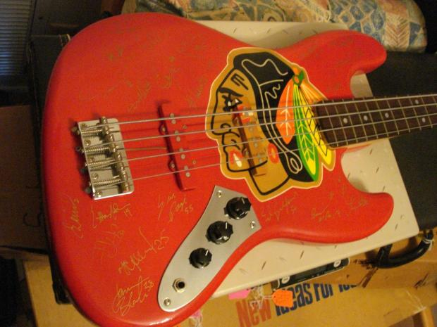 Golden Auto Sales >> Fernandes Chicago Blackhawks '96/'97 team signed Bass ...