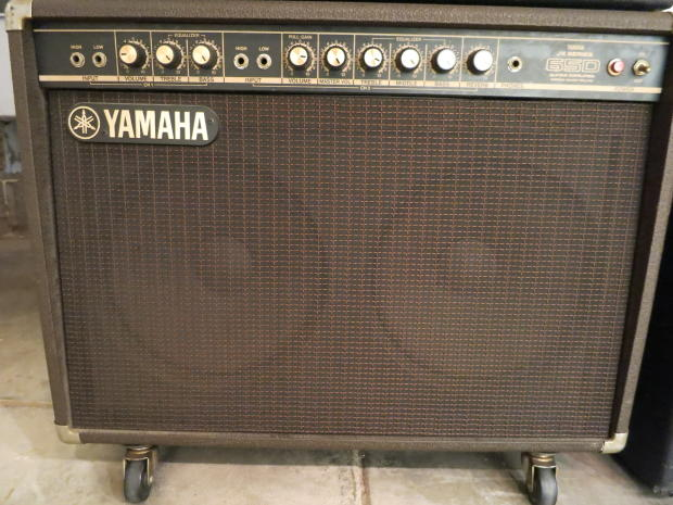 Bass Guitar Through Keyboard Amp : vintage 1980s yamaha amplifier solid state jx series guitar keyboard bass amp 65d 2 x 12 brown ~ Russianpoet.info Haus und Dekorationen