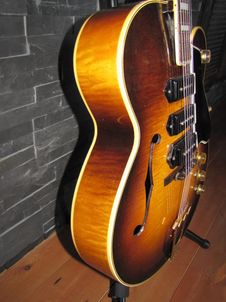 Gibson Hollow Body Sunburst Hollow Body 1950 Sunburst