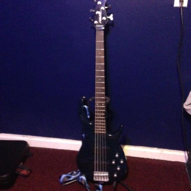 peavey fury v 5 string bass 90s reverb
