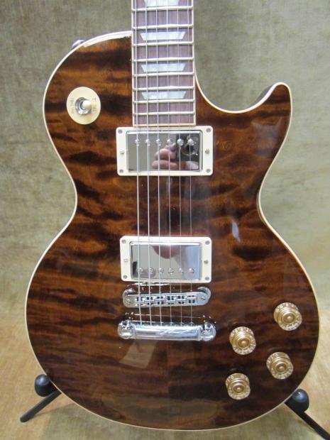 2014 Gibson Les Paul Standard Premium Plus Quilt Top Root