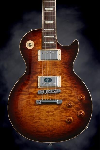 Gibson Les Paul Standard Premium Plus 2013 Aaa Quilt Maple