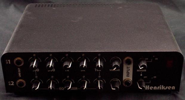 henriksen jazz amp head 2 channel guitar amplifier reverb. Black Bedroom Furniture Sets. Home Design Ideas