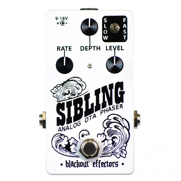 Blackout Effectors Sibling Small Box Analog Phaser & Ring ...