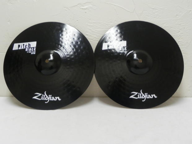 Zildjian Pitch Black Cymbals Zildjian 14 Pitch Black