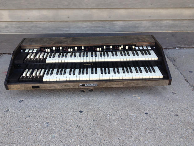 analog outfitters organic 261 2 manual midi controller hammond organ retrofit b3 chop a100 c3. Black Bedroom Furniture Sets. Home Design Ideas