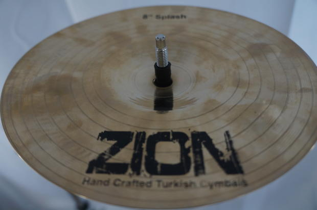 zion eric moore splash cymbal 8 reverb. Black Bedroom Furniture Sets. Home Design Ideas