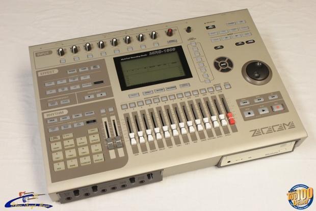 zoom mrs 1608 multitrack recording studio 16 track digital recorder 25589 reverb. Black Bedroom Furniture Sets. Home Design Ideas