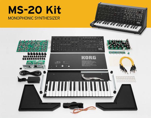 korg ms 20 kit analog semi modular synthesizer keyboard brand new image. Black Bedroom Furniture Sets. Home Design Ideas