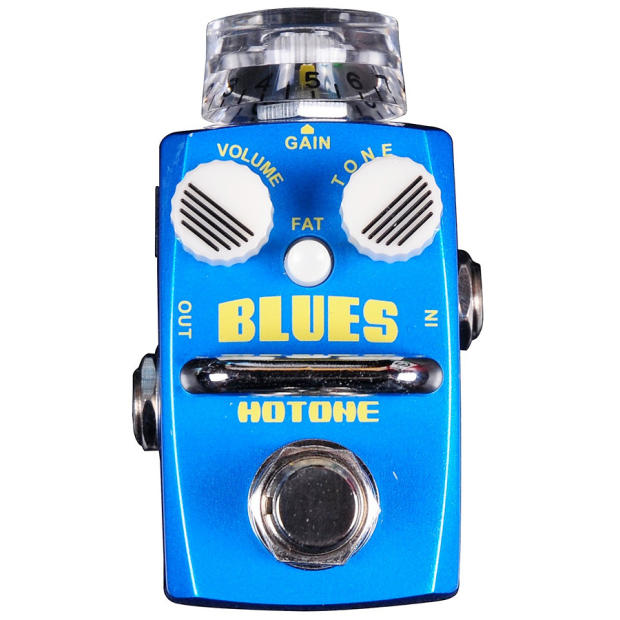 hotone blues overdrive guitar effects pedal reverb. Black Bedroom Furniture Sets. Home Design Ideas