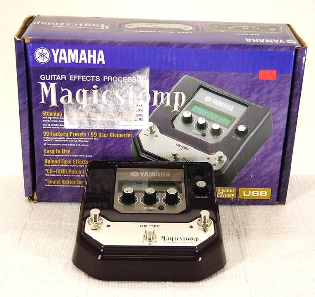 yamaha magicstomp guitar multi effects pedal w box manual software mint reverb. Black Bedroom Furniture Sets. Home Design Ideas