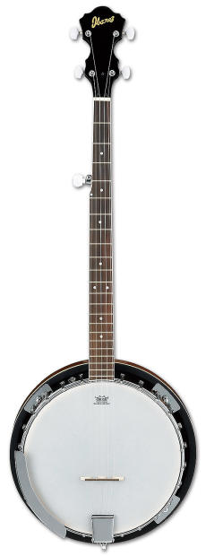 Ibanez B50 5 String Closed Back Banjo Reverb