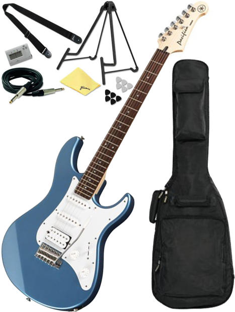 yamaha pacifica pac112j electric guitar lake blue w gig bag and accessory pack reverb. Black Bedroom Furniture Sets. Home Design Ideas