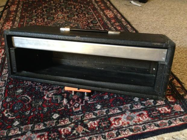 Fender Bandmaster Amp Head Black Fender Project Amp Head