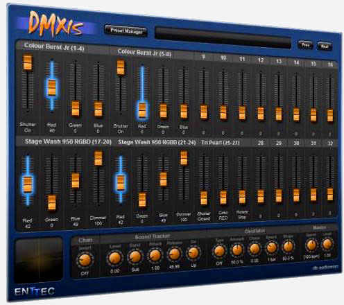 enttec dmxis controller pc dmx software pro fee shipping. Black Bedroom Furniture Sets. Home Design Ideas