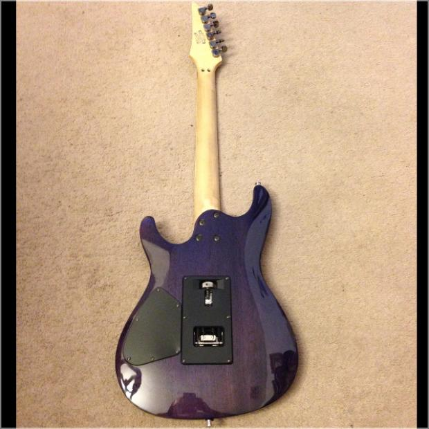 ibanez s470dxqm purple quilted maple guitar with seymour duncan pickups reverb. Black Bedroom Furniture Sets. Home Design Ideas